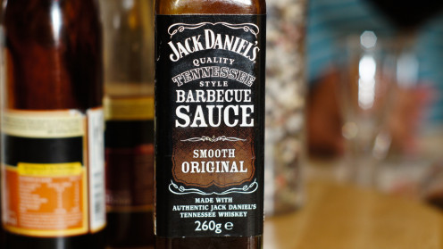 A Tennessee whiskey sauce made by Jack Daniels