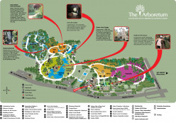 Map of the Botanical Gardens and LA Arboretum Gardens of the World!