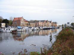 View of the Oostkade, Sas-van-Gent