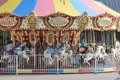 The Merry-Go-Round is open for all customers at Spring Park in Tuscumbia, Alabama.