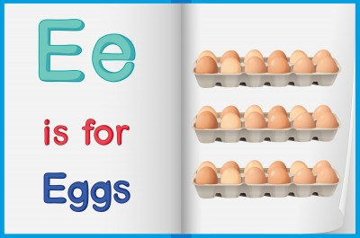 The word 'egg' is a closed syllable.  A closed syllable ends with a consonant and usually has a short vowel sound.