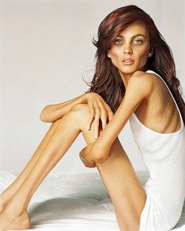 An anorexic person will most likely view this as perfection and strives to look like it. This is a dangerous mindset to have.