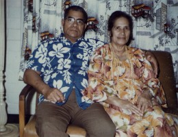 My husband's parents (family photos)