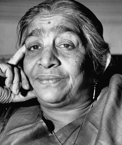 Sarojini Naidu, the Nightingale of India.