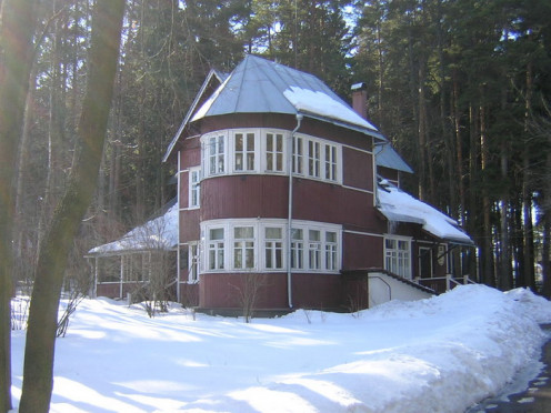 Pasternak's dachu that he and his family lived in from 1936 until his death in 1960.