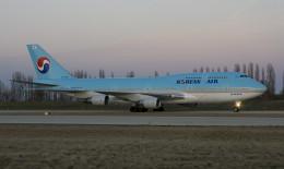 Korean Air Lines Boeing 747