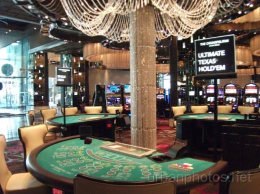Cosmopolitan of Las Vegas blackjack table.