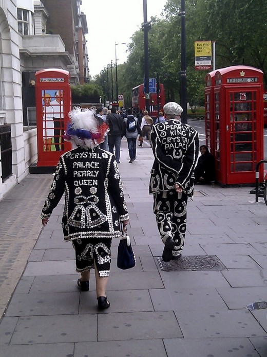 PEARLY QUEEN & PEARLY KING