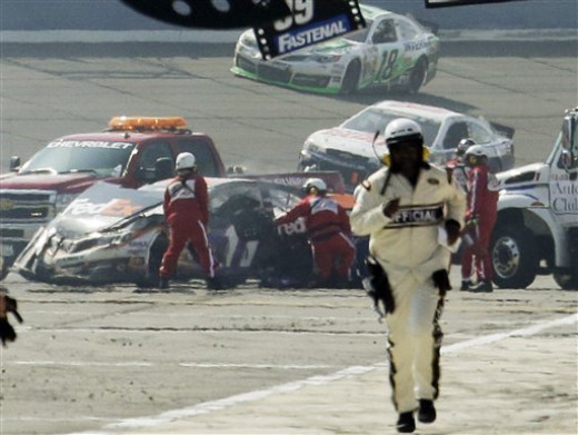 A wreck earlier this season put Hamlin on the shelf for several weeks