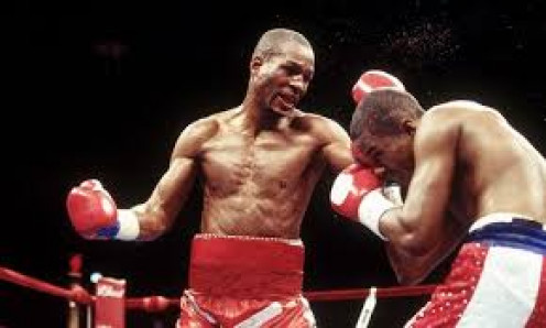 Bernard Hopkins knocked out Felix Trinidad in the 12th round to unify the middleweight belts.