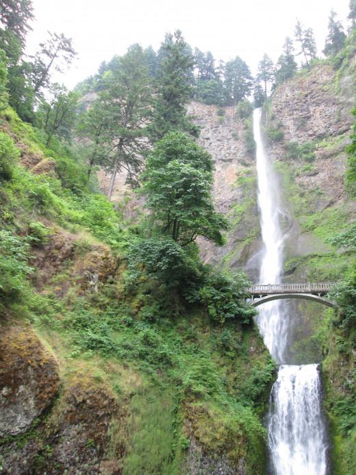 Multnomah Falls, outside of Portland, Oregon
