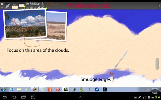 Underpainting the Cloud.