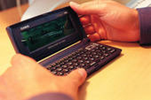 Daily ideas best stored on a PDA.