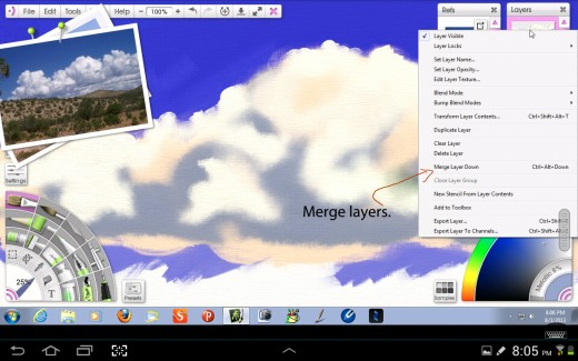 Merge Layers to Simplfy Things.