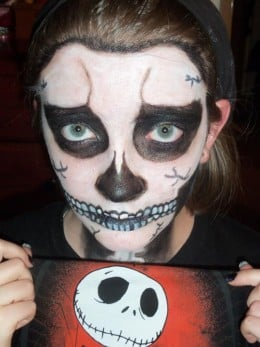 My daughter as one of her favorite characters.