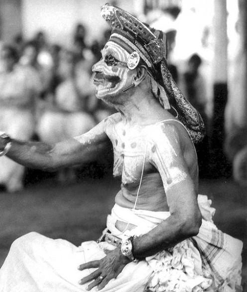 Mani Madhava Chakyar as Vidushaka