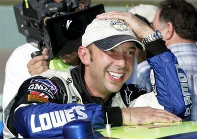 Life is good for Chad Knaus these days