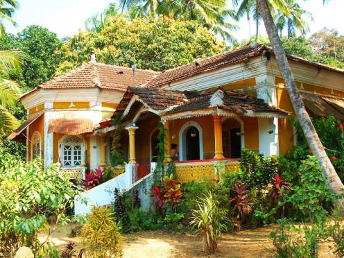 Portuguese Villa near Chapora, Goa