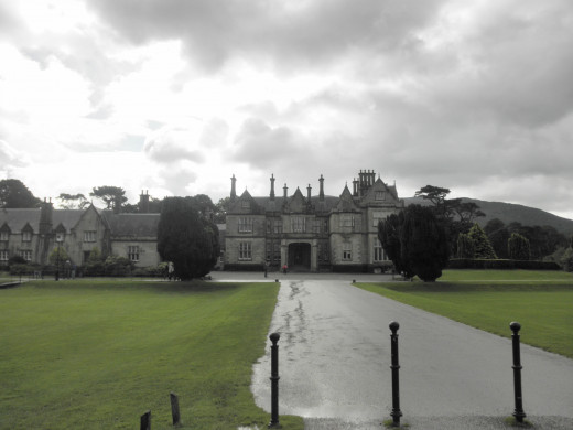 The main entrance to Muckross House.