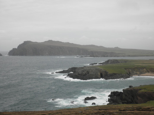 View from the Slea Head Drive route.