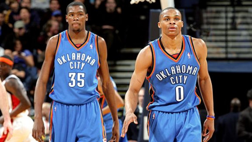 With two superstars, the Oklahoma City Thunder can compete with anyone for a championship