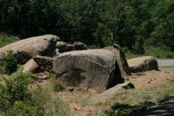 The rocks at Devil's Den.
