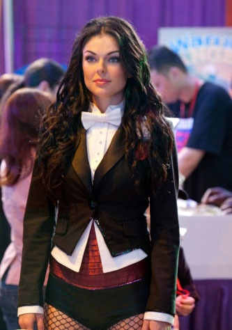 Serinda Swan as Zatanna in Smallville