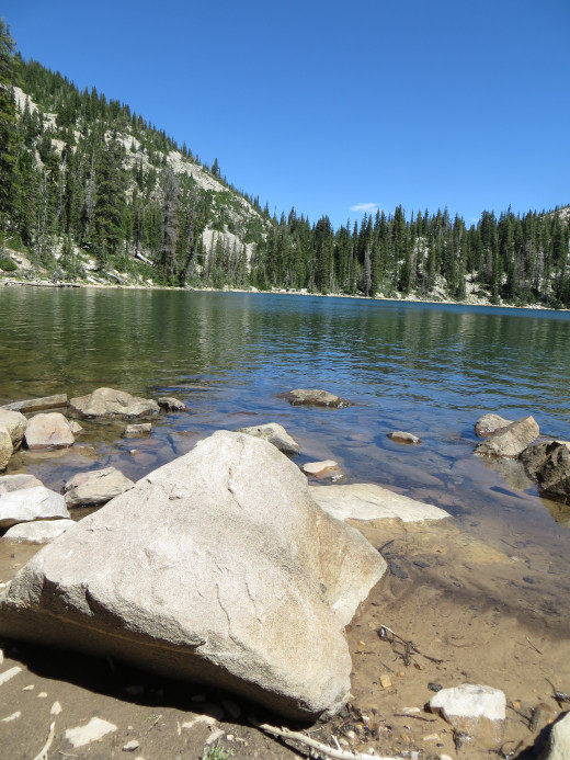 Kamas Lake on the Lofty Lake Loop