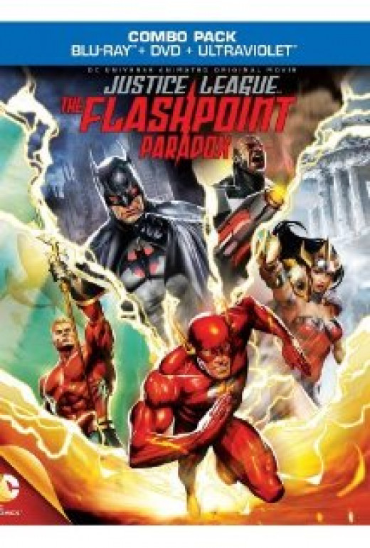 Justice League: The Flashpoint Paradox cover art.