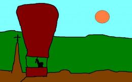 Balloon flight.