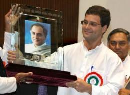 Rajiv's son Rahul Gandhi