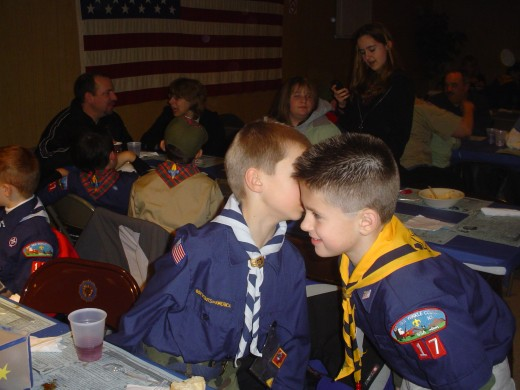 Boy Scouts are brothers.