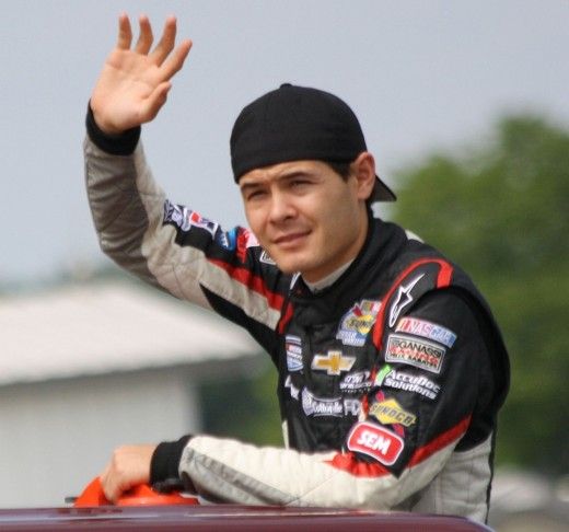 Nationwide rookie Kyle Larson