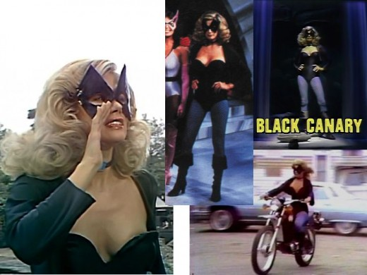 Danuta Wesley as Black Canary in 1979 Legends of the Superheroes