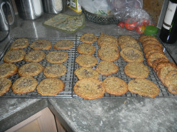 Mom's Almond Flour Chocolate Chunk Cookies