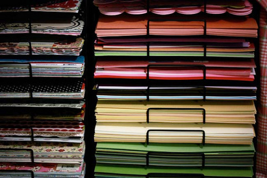 Good storage will make your scrapbooking so much easier!