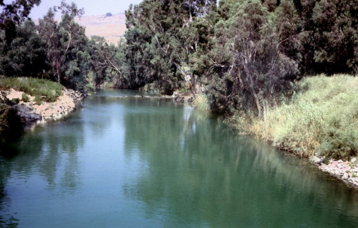 Naaman's unconventional healing took place in the muddy waters of the Jordan River.