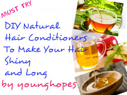 DIY Natural Hair Conditioners To Make Your Hair Shiny and Long