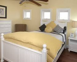 Soft Yellow Bedroom