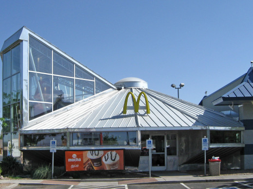 The McDonalds in Roswell, New Mexico.