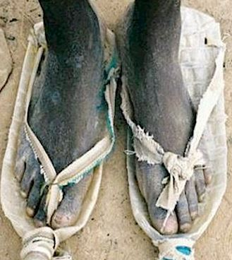 African Tribal Footwear