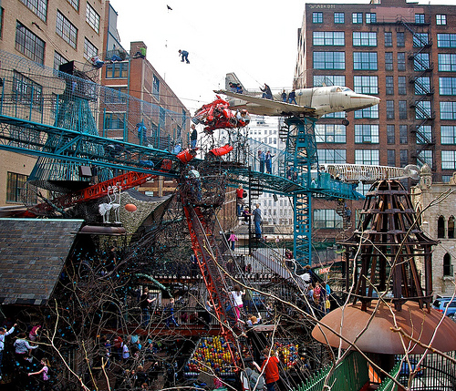 The organized chaos of the City Museum