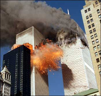 911 and the Twin Towers fall