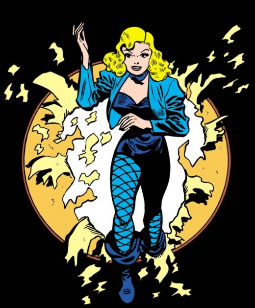 Classic Black Canary Costume