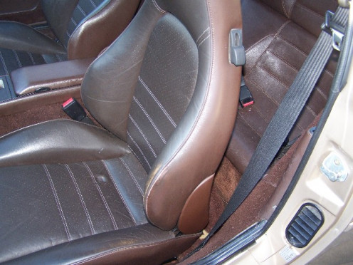 Early 944 Sport Seat Option
