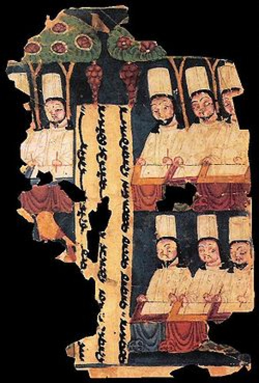 """Images of Manicheans, one of the only existing groups in the world with ancient lineage that rightly can be called """"gnostic"""""""