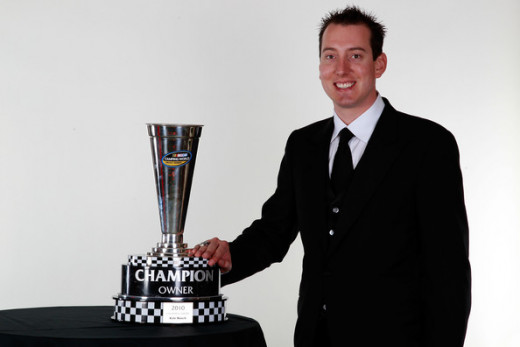 Busch won the 2009 series title while still competing full time at the Sprint Cup level as well