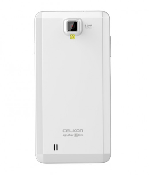 Celkon A118 HD Back