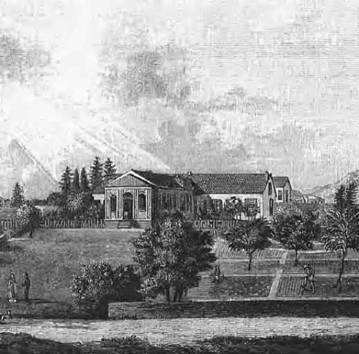 Longwood House, Napoleon's Residence on St. Helena