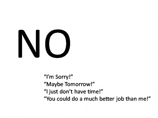 Manage your time by saying NO